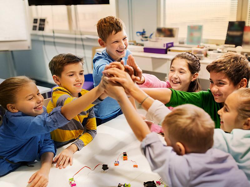 Fondation PH - activités avec des enfants