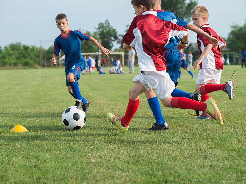 Fondation PH - joueurs de soccer