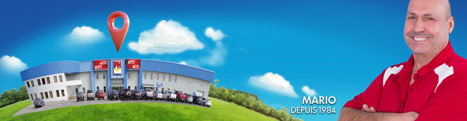 Header emploi installateur de vitres d'auto